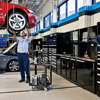 Automotive dealerships - vehicle services