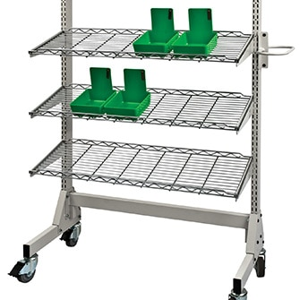 Case pan cart