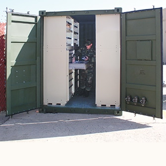 Mobility deployment container - government