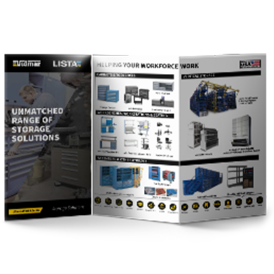 Storage Solutions Overview Flyer