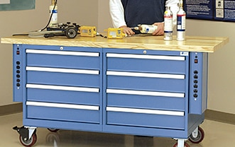 Mobile Industrial bench thumbnail