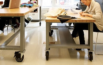 Mobile worktables - Fashion