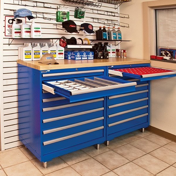 Space efficient tools storage - Ag-OPE